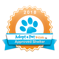 Approved Shelter Paw Print Badge