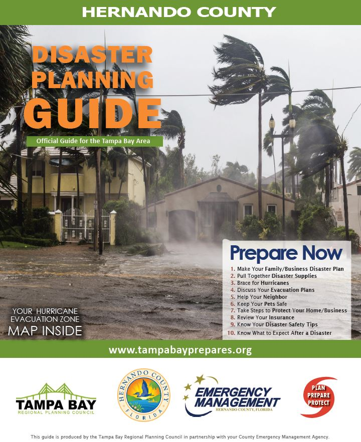 Cover 2018 Disaster Planning Guide