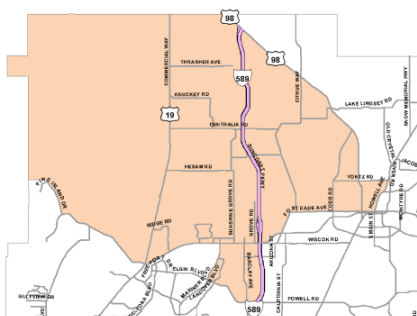 District 3 Commissioner Map