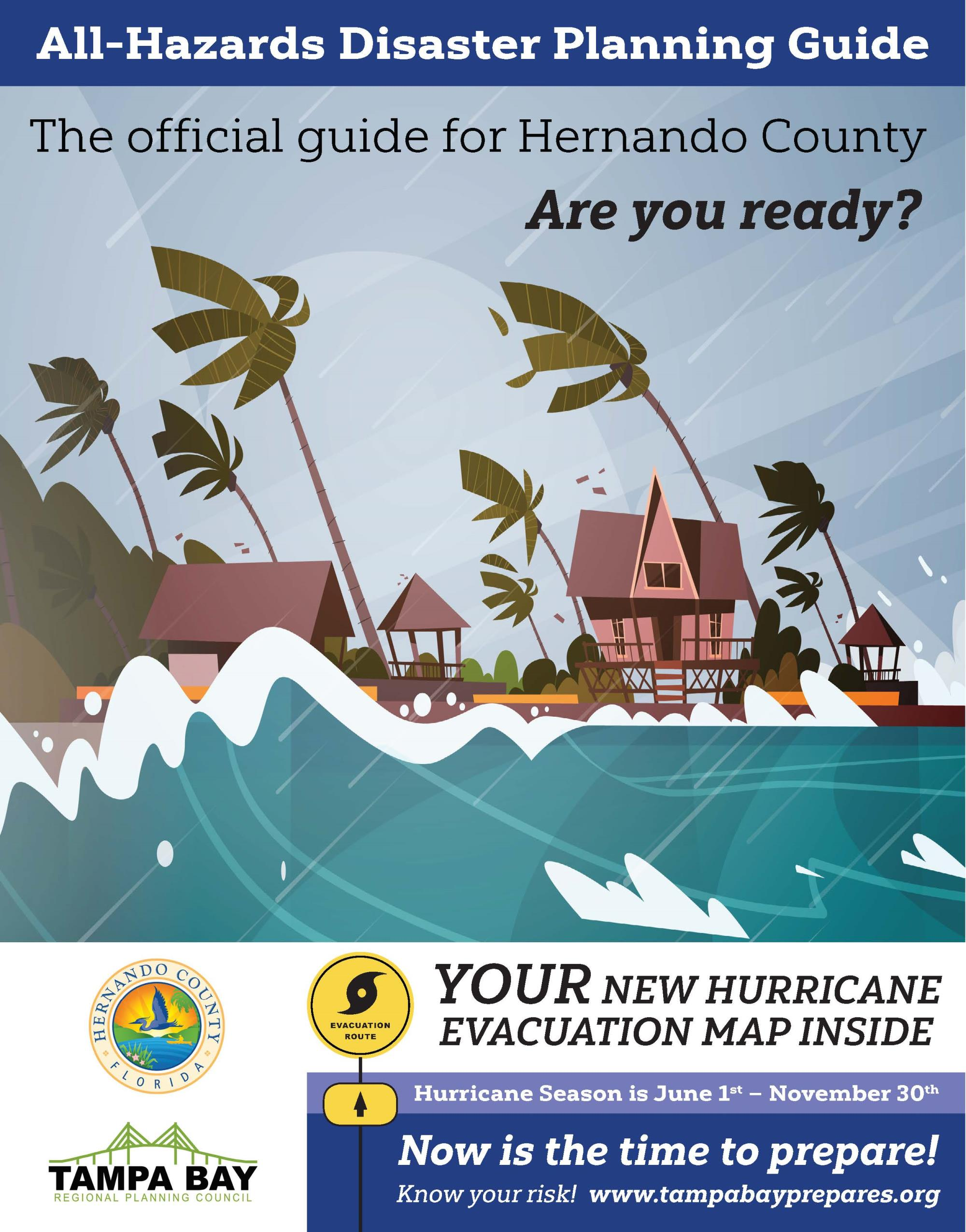2019 Disaster Planning Guide and Evacuation Map