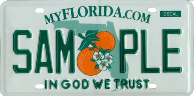 sample state tag in god we trust