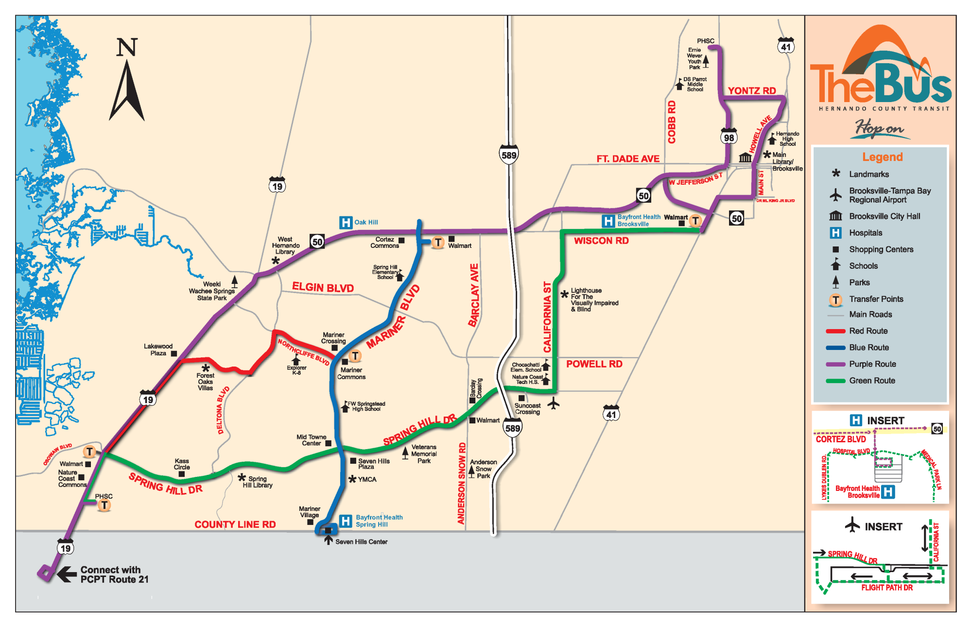 Routes and Schedules | Hernando County, FL on transport map of routes, map of us interstate routes, us map road trip, map of the united states with routes, us interstate highway maps routes, map of amtrak train routes, world map with routes,