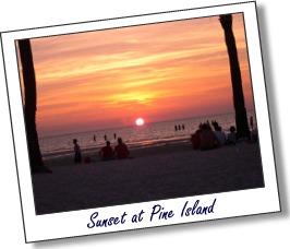 Pine Island Sunset 2004